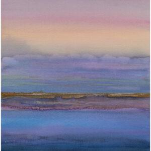 Himmel möter hav I akvarell 36x54cm - Mats Ljungbacke